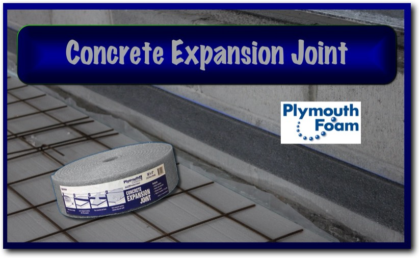 Concrete Expansion Joint Plymouth Foam Expansion Joint