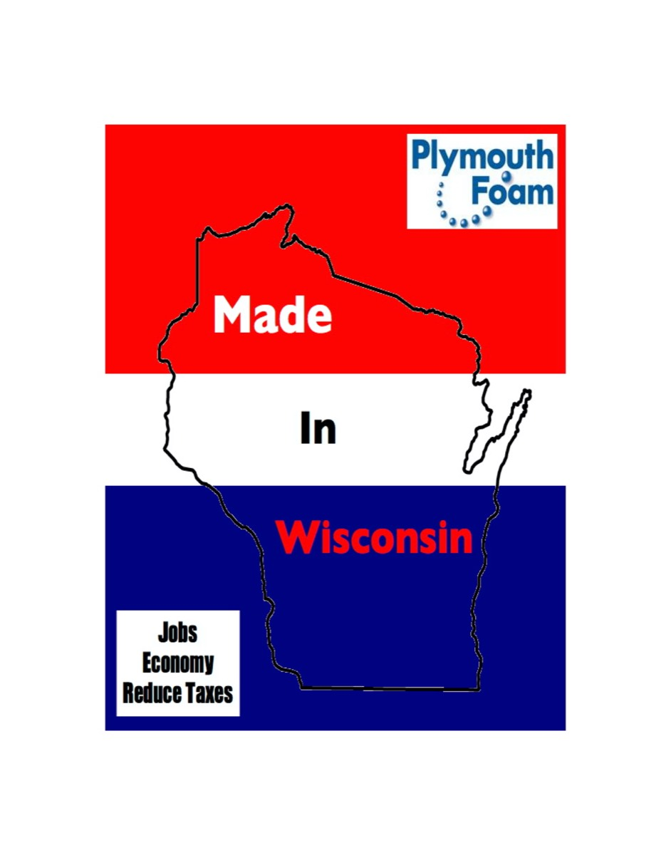 Plymouth Foam Made in USA and Made in Wisconsin