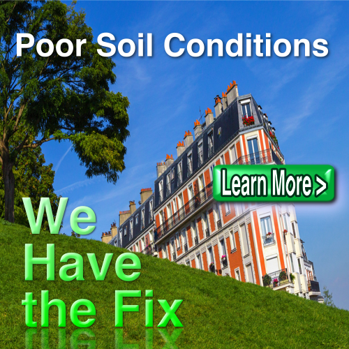 Fix poor soil conditions